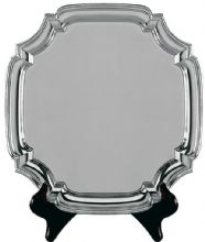 Heavy Square Salver Presentation Plate